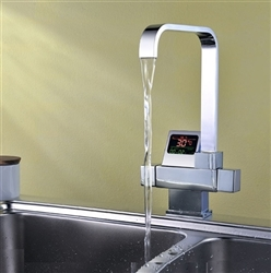Digital display Faucet