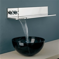 Chrome Wall Mounted Faucet