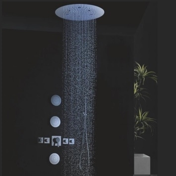 billa recessed shower head shower system