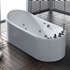 Bathroom Bathtub Acrylic Bathtub Corner White 1.7M Bathtube SPA Whirlpool Soaking Bath Tub Freestanding Bathtub Soaking Bath Tub