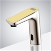 Milan Juno Digital Display Brushed Nickel Commercial Automatic Motion Sensor Faucet