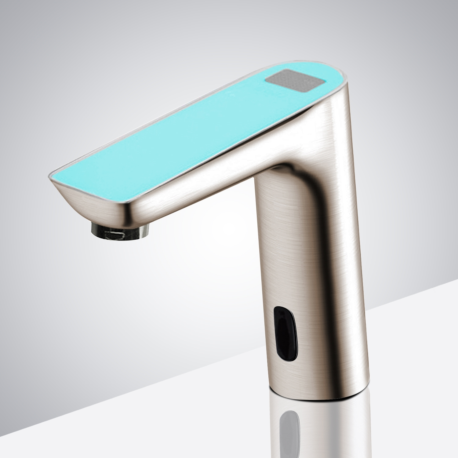 Buy Digital Display Bathroom Sensor Faucet Automatic Hands Free ...