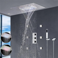 Nariman shower head multicolor led