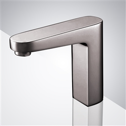 Velagio Windowless Capacitive Commercial Automatic Brushed Nickel Touch Motion Sensor Faucet