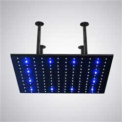 BathSelect shower head multicolor led