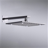 Brushed Nickle Led shower head color changing