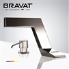Bravat Chrome Bathroom sensor motion faucets