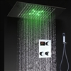 BathSelect Catania Allure Digital Led Waterfall Shower Set