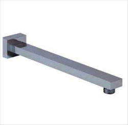 12-Inch Wall Mount Shower Arm with 1/2-Inch NPT Thread - see available finishes
