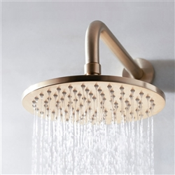 shower head Gold tone finish