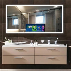 "BathSelect 43"" Smart Android Wall Mount Smart Mirror With HD Television"