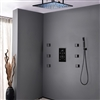 BathSelect Royal Shower System With LCD Digital Mixer And Adjustable Body Jets