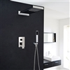 Prelude Contemporary Shower Set Concealed Wall Mount