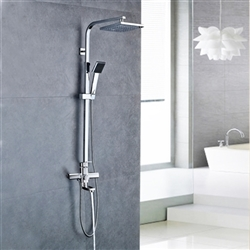 Melo Rainfall Massage Shower Set