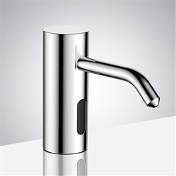 Fontana Stainless Steel Commercial high quality wall mount Automatic Faucet & Soap dispenser