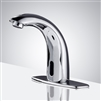 Contemporary touchless bathroom faucets