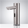 hands free bathroom sink faucets brushed nickel sensor faucets for lavatory