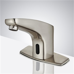 Mirage Brushed Nickel Commercial Automatic Motion Sensor Faucet