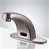 Salina Brushed Nickel Commercial Automatic Touchless Sink Faucet