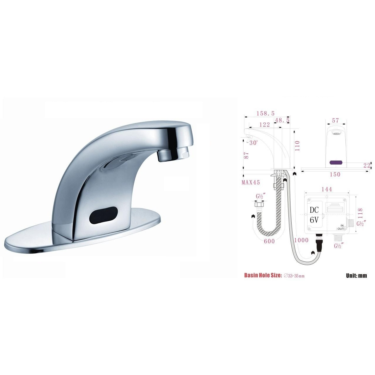 Touchless Bathroom Faucets best price bathroom sensor faucets for residential and commercial