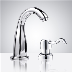 Plato Automatic Commercial Sensor Faucet and Soap Dispenser