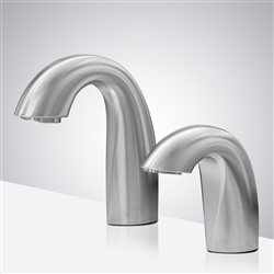 automatic commercial hands free faucet