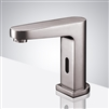 Elèna Touchless Basin Automatic Commercial Brushed Nickel Sensor Faucet