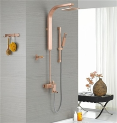 Nipolo Champagne Color Shower Panel