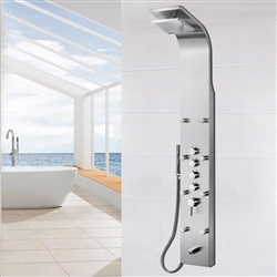 Shower Panel System in Stainless Steel