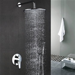 Cecilia Stainless Steel Shower Set  with concealed mixer