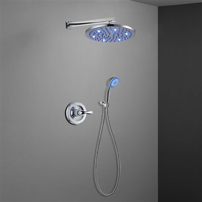 Lima Stainless Steel Shower Set with concealed mixer