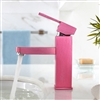 Colorfull Red Bathroom Sink Faucet