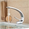 Genoa Bathroom Sink Faucet Deck Mount Bright Chrome