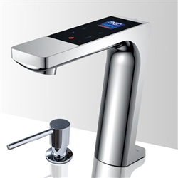 Bathselect Chrome Bathroom sensor motion faucets