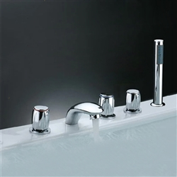 Triple Handles Shower Faucet