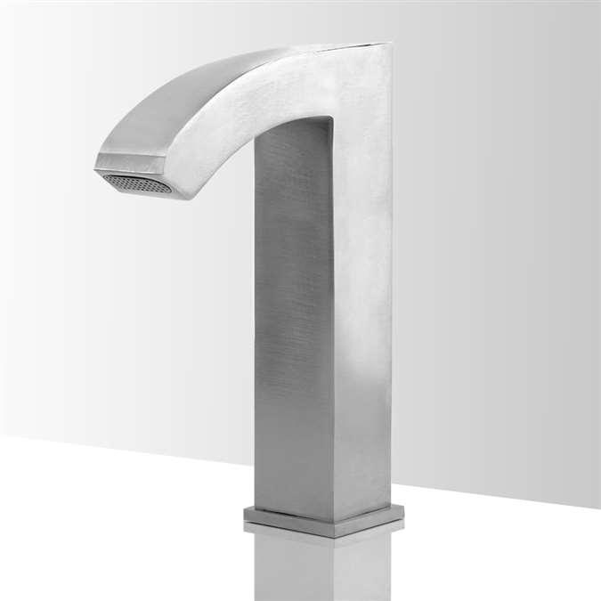 Shop Lano Sensor Faucet In Brushed Nickel Finish At Bathselect