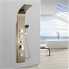Venice Massage Shower Panel Champaign Gold