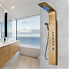 Shop Primo Pulsating Massage Shower Panel Gold Plated At BathSelect