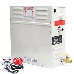 6 KW Steam Generator With Dry Steam Oven And Wet Steam Shower Bath