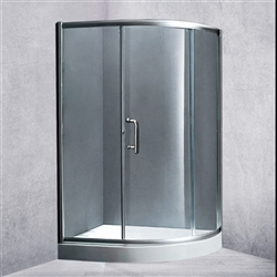 Single Door Enclosed Hydro Shower Room