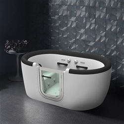 BathSelect Berlin Round Whirlpool Walk-in Tub