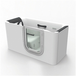 BathSelect Lyon Deep Walk-in Bathtub for Seniors