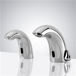 Temperature Commercial Control Automatic sensor faucet bathroom commercial and residential