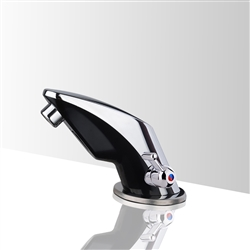 Temperature Control operation Contemporary touchless bathroom faucets