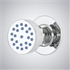 BathSelect Taranto Chrome Finish Round Massage Shower Body Jets Spray