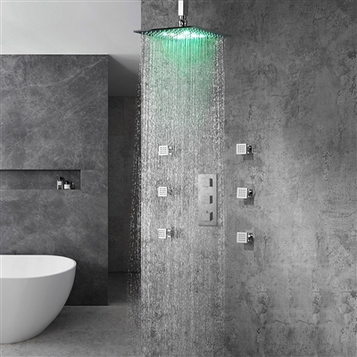 Luxury Shower Sets shower systems with jets
