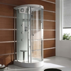 water massage steam shower
