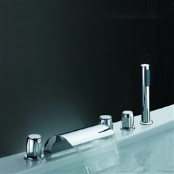 Solid Brass Chrome Bathtub Faucet