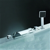 Chrome Widespread Shower Faucet