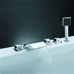 Arc Spout Bath Shower Faucet